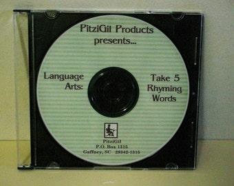 Language Arts:  Take 5 Rhyming Words