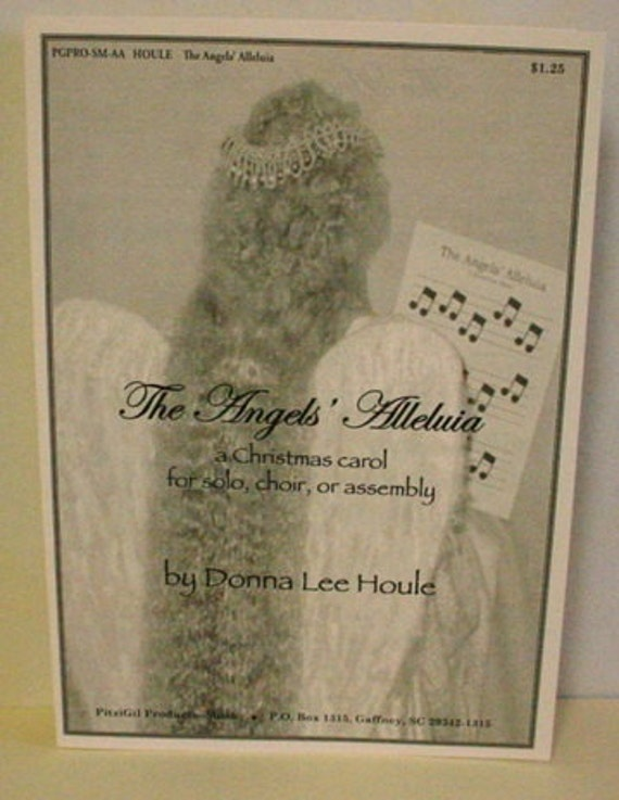 Sheet Music:  The Angels' Alleluia