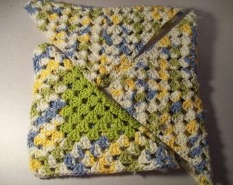 Granny Square dish cloths
