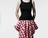 Square skirt. BRASS SS09 Sample