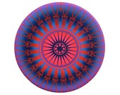 Mandala Print - Painting - Spiritus 4: Exhale - 8x10 Limited Edition Giclée Print 2/150