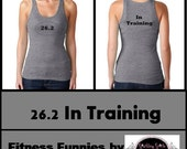 Womens Marathon 26.2  Exercise  Fitness Tank