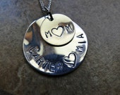 Mother's Day Necklace...Sale 10% off