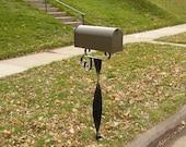 Iron Mail Box Post.