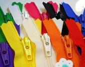 YKK Zippers - 3 Inch - BASICS MIX - Rainbow (10)