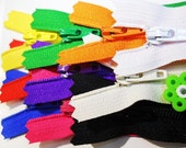 YKK Zippers - 9 Inch - Rainbow Basics - (10)