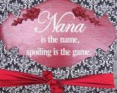 Elegant Rose embelleshed sign