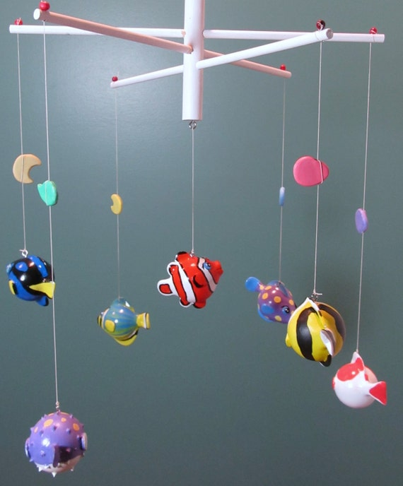 items similar to custom baby mobile for nursery a unique