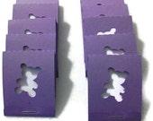 Matchbook Notepad Teddy Bear set of 10 - mini notepads - mini jotters