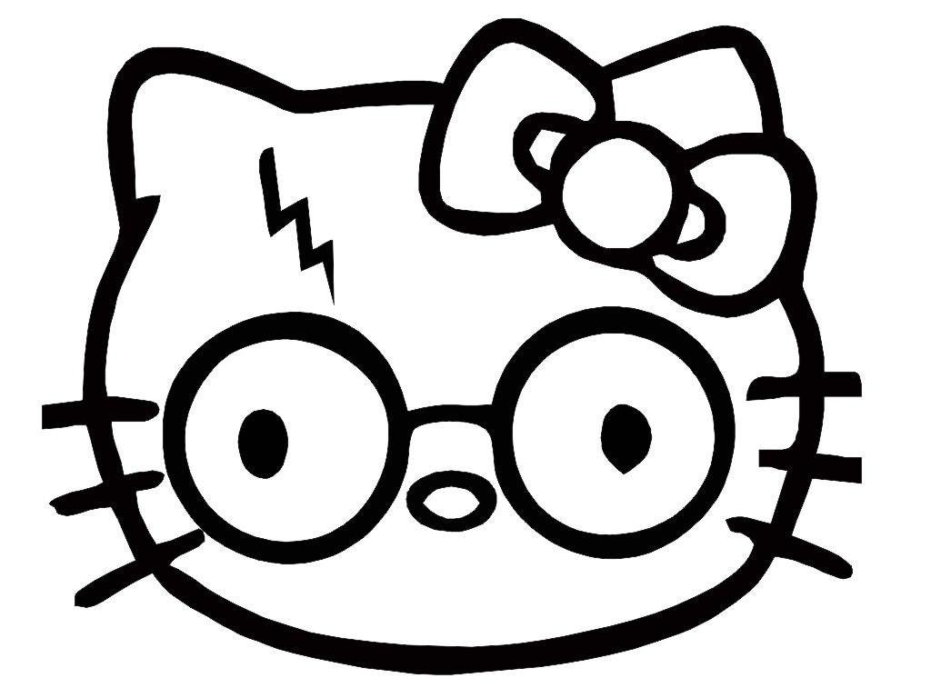 Cara De Kitty Para Colorear Hello Kity Para Colorear Hello Kitty