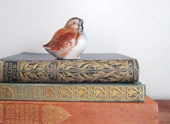 Vintage Porcelain Cranky Bird Figurine