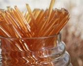 Honey Sticks Pure Wildflower Honey - 25 Honey Filled Sticks. Great for Honey Wedding Favor
