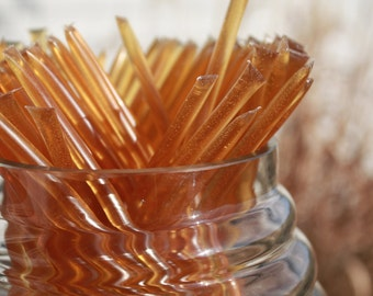 Honey Sticks Pure Wildflower Honey - 25 Honey Filled Sticks. Great for Honey Wedding Favor
