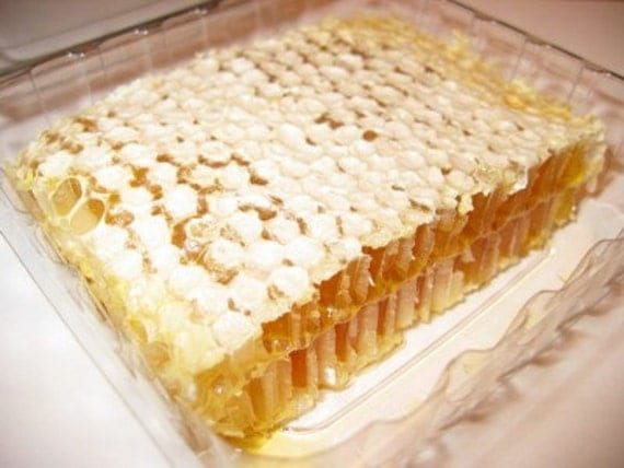Custom listing for Wolverton 1 Raw Comb Honey   6 - 8 ounces