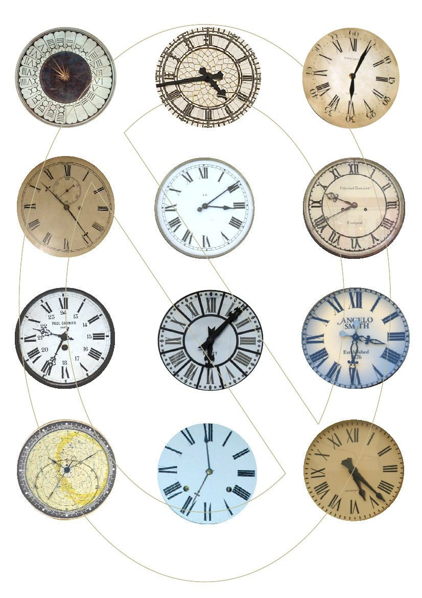 Clock Faces To Print Clock faces images use as