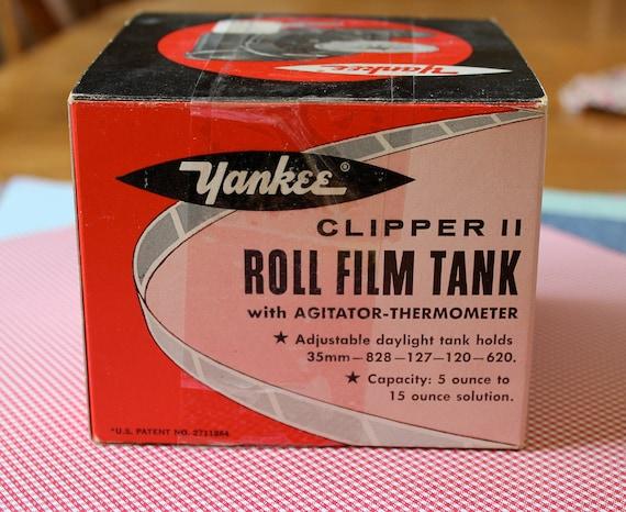 Yankee Clipper II roll film tank speed-o-matic loading