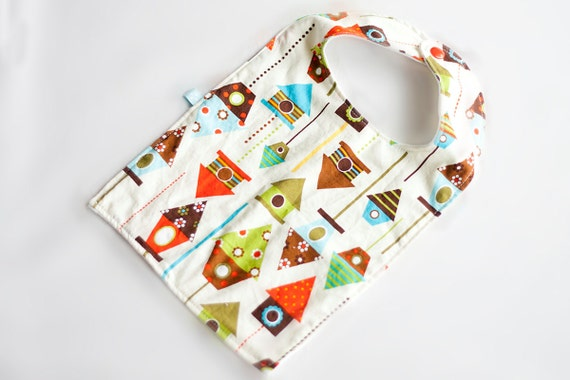 ON SALE-Bib for baby and toddler, feeding bib, Soft and absorbent