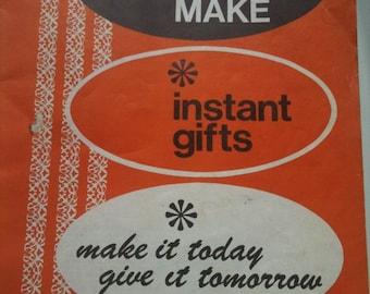 Novelties to Make Instant Gifts--vintage craft book free international posting shipping
