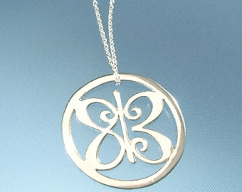 One Meaning Love is All Around Silver Necklace  - all of our jewelry means I LOVE YOU