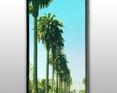 Vintage Palm Tree's: iPhone 4 Case, iPhone 4s Case, iPhone 4 Hard Case, iPhone Case