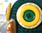 Nugget The Owl - amigurumi crocheted owl