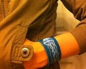 Jelly Belly Fish - leather cuff
