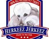 HERKEEZ  JERKEEZ Chicken Jerky treats 16 oz