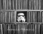 Star Wars Photo - Vinyl Trooper - Stormtrooper Helmet