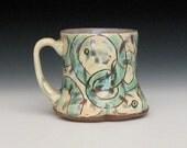 Circle design mug