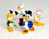 """RESERVED for NIKKI - Disney Duck Tales Figurines - 1991 Kellogg's Cereal Promotion Sets """"Disney Afternoon"""" in Original Factory Boxes, 3 SETS"""