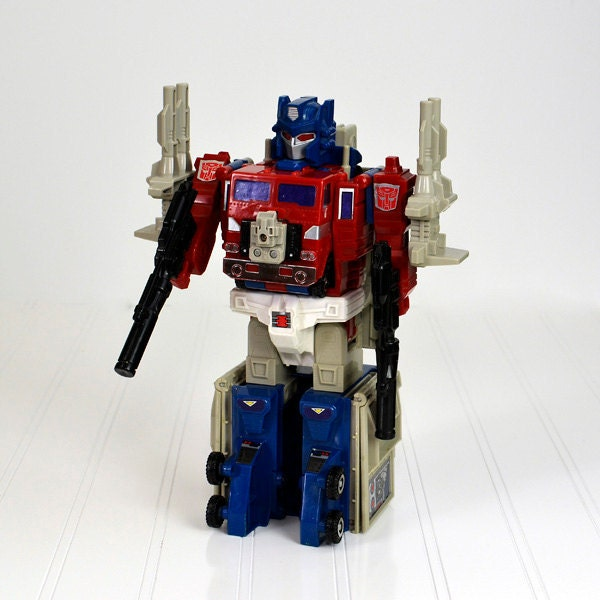 Transformers Toy Optimus Prime G1 Action Figure Powermaster