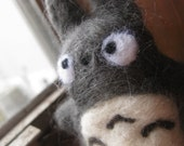 Totoro- Needle felted