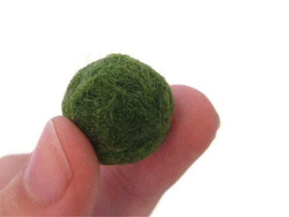 Live Marimo Moss Ball Nano Plant Desk Pet