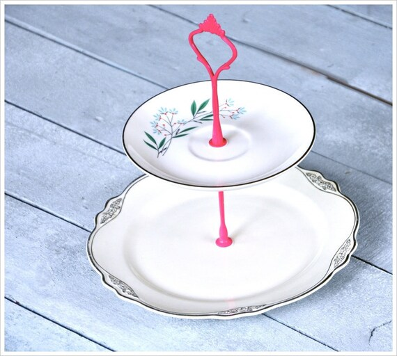 Bluebud: Mini Cake Stand Wedding Decorations Dessert Table Setting Maid of Honor Gift Set