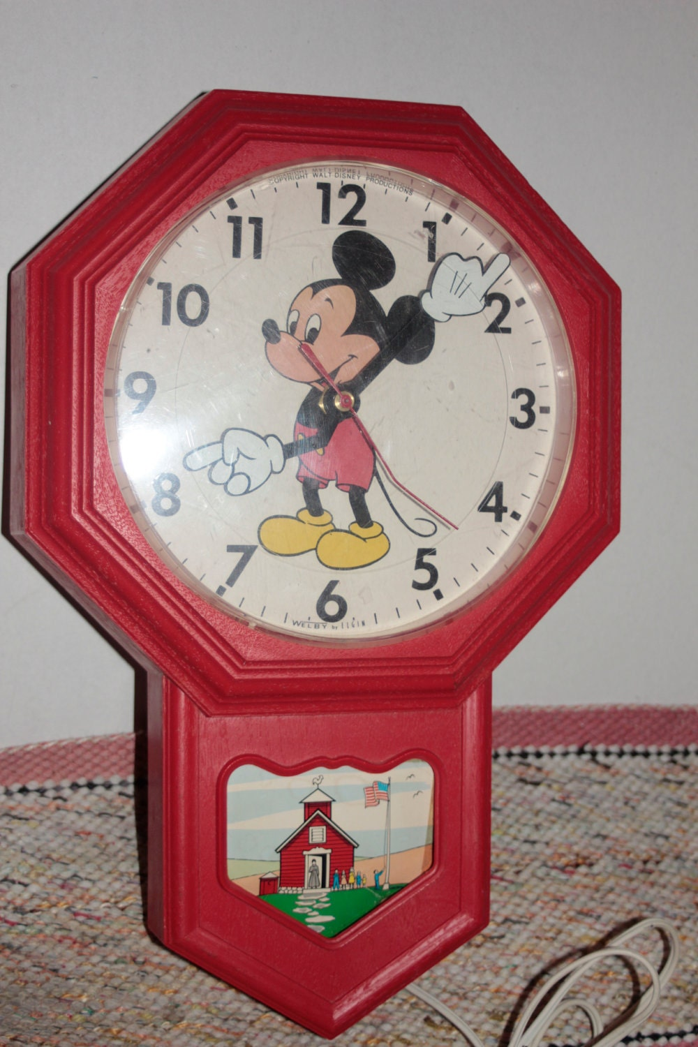 A Very Special Clock Mickey Mouse Clock 1960 S Era