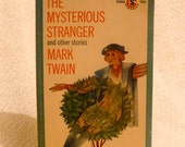 The Mysterious Stranger and other stories by Mark Twain. First Edition Paperback from 1960s