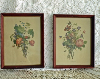 Botanical Prints Sale J L Prevost, 1750-1810  Pair signed & numbered