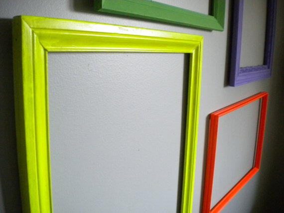 Bright Frame: Neon Yellow