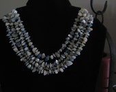 Four Strand Mother of Pearl Necklace