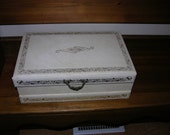 Large Vintage Jewelry Box