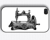 Vintage sewing machine Iphone Cover