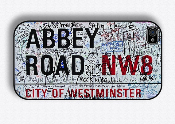 Abbey Road Iphone 4 Cover