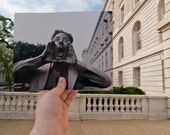 Looking Into the Past: Congressional Hog Calling, Cannon House Office Building, Washington, DC (8x10)