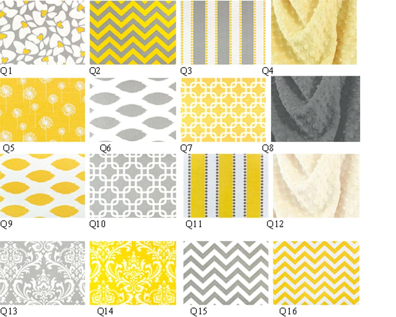 Dark gray and yellow bedding - 403 Forbidden