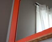 Kelly Mirror - Bright Orange