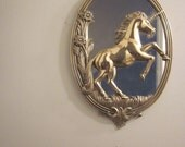 Gold Unicorn Mirror