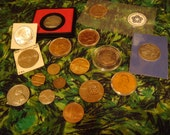 Vintage U.S. Coins - Variety  ( LOT)  1945 - 1982 Commemorative Coins And Tokens - ( 18 All )