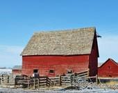 Montana Barn Three 8x12 Fine Art Photograph
