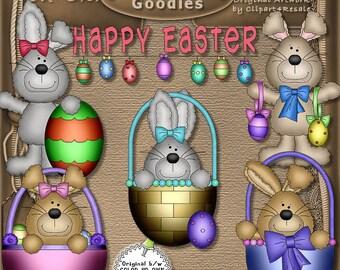 Digital Scrapbook Easter Clip Art Set