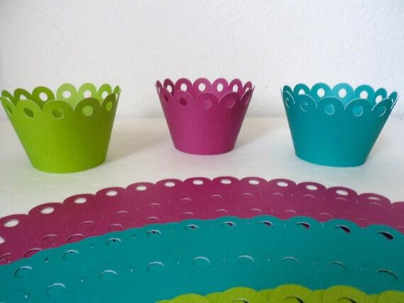 Color Cupcake wrapper